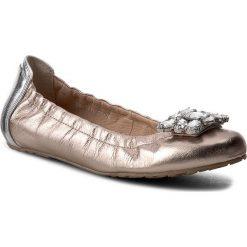 Baleriny damskie lakierowane: Baleriny KARINO – 2081/074-P Złoty