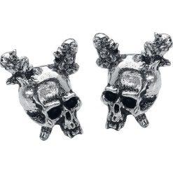 Metallica Damage Inc. Kolczyki - Earpin srebrny. Szare kolczyki damskie Metallica, srebrne. Za 62,90 zł.