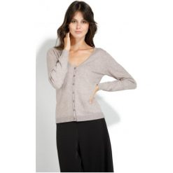 Swetry damskie: William De Faye Sweter Damski S Beżowy