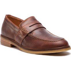 Półbuty CLARKS - Clarkdale Flow 261317537  Mahogany Leather. Brązowe półbuty skórzane męskie marki Clarks. W wyprzedaży za 339,00 zł.
