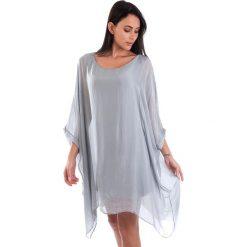 Sukienki balowe: Sukienka w kolorze szarym