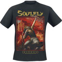 T-shirty męskie: Soulfly Ritual Aggression T-Shirt czarny