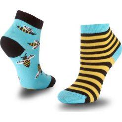Skarpety Niskie Unisex MANY MORNINGS - Bee Bee Kolorowy. Czerwone skarpetki męskie marki Happy Socks, z bawełny. Za 19,00 zł.