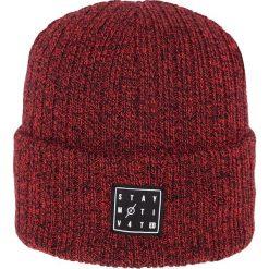 Czapka męska CAM153Z - czerwony melanż - 4F. Czerwone czapki męskie 4f, melanż, z materiału. Za 19,99 zł.