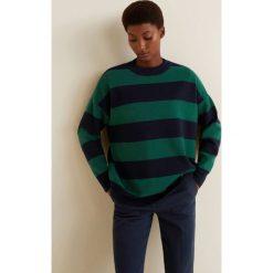 Mango - Sweter Wallyr. Szare swetry klasyczne damskie Mango, l, z dzianiny, z okrągłym kołnierzem. Za 119,90 zł.