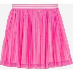 Name it - Spódnica dziecięca 122-152 cm. Fioletowe minispódniczki marki Name it, z materiału, rozkloszowane. W wyprzedaży za 69,90 zł.