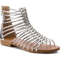 Sandały dziewczęce: Sandały NELLI BLU – CM1709-1 Srebrny