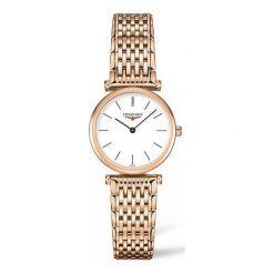 ZEGAREK LONGINES La Grande Classique. Białe zegarki damskie LONGINES, ze stali. Za 4570,00 zł.