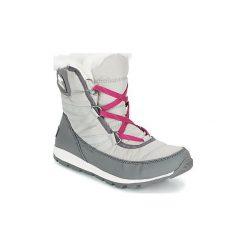 Śniegowce Sorel  WHITNEY SHORT LACE. Szare buty zimowe damskie Sorel. Za 424,00 zł.
