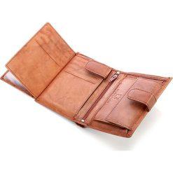 Skórzany portfel męski Bag Street Brąz. Brązowe portfele męskie Bag Street, ze skóry. Za 39,00 zł.