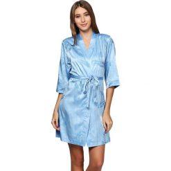 Szlafroki kimona damskie: Szlafrok w kolorze jasnoniebieskim