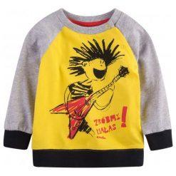 Bluzy dziewczęce rozpinane: Bluza dresowa przez głowę dla dziecka 0-3 lata