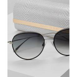 Okulary przeciwsłoneczne damskie aviatory: Jimmy Choo ELLO Okulary przeciwsłoneczne black