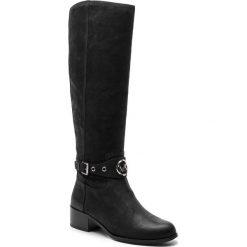 Oficerki MICHAEL MICHAEL KORS - Heather Boot 40F8HAMB5S Black. Czarne buty zimowe damskie marki MICHAEL Michael Kors, z gumy, przed kolano, na wysokim obcasie. Za 1449,00 zł.