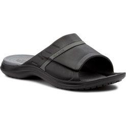 Klapki CROCS - Modi Sport Slide 204144 Black/Graphite. Czarne chodaki męskie Crocs, z tworzywa sztucznego. Za 149,00 zł.