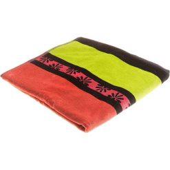 """Kąpielówki męskie: Ręcznik plażowy """"Daisy"""" w kolorze pomarańczowo-różowym – 160 x 86 cm"""