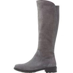 Pier One Kozaki grey. Szare buty zimowe damskie marki Pier One, z materiału. W wyprzedaży za 335,20 zł.