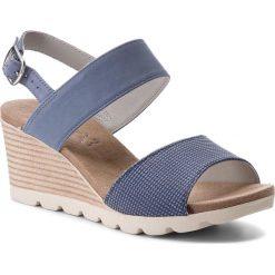 Sandały damskie: Sandały CAPRICE – 9-28701-20 Blue Comb 809