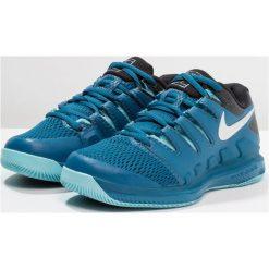 Nike Performance AIR ZOOM VAPOR X HC Obuwie multicourt green abyss/multicolor/bleach. Niebieskie buty do tenisu damskie marki Nike Performance, z gumy. Za 399,00 zł.