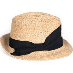 Kapelusz damski Summer noir brązowo-czarny. Brązowe kapelusze damskie marki Art of Polo. Za 54,70 zł.