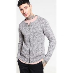 Swetry rozpinane męskie: YOURTURN Kardigan black/camel/white