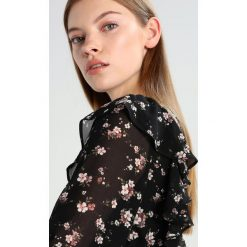 Bluzki asymetryczne: Bardot FRILL Bluzka black