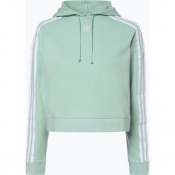 Adidas Originals - Damska bluza nierozpinana, zielony. Szare bluzy damskie marki adidas Originals, na co dzień, z nadrukiem, z bawełny, casualowe, z okrągłym kołnierzem, proste. Za 269,95 zł.