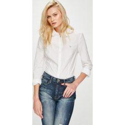 Guess Jeans - Koszula. Szare koszule jeansowe damskie Guess Jeans, l, z aplikacjami, z długim rękawem. Za 319,90 zł.