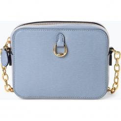 LAUREN RALPH LAUREN - Damska torebka na ramię, niebieski. Niebieskie torebki klasyczne damskie Lauren Ralph Lauren. Za 749,95 zł.