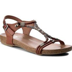 Rzymianki damskie: Sandały PORRONET – WP0-2217 Brązowy