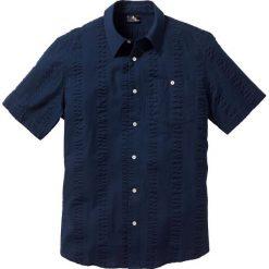 Koszule męskie na spinki: Koszula z kory Regular Fit bonprix ciemnoniebieski
