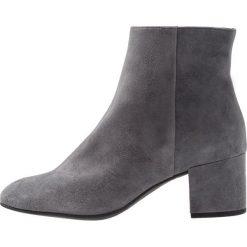 Högl Ankle boot dark grey. Szare botki damskie na zamek HÖGL, z materiału. Za 649,00 zł.