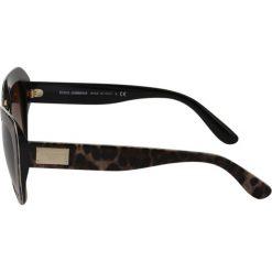 Dolce&Gabbana Okulary przeciwsłoneczne multi. Brązowe okulary przeciwsłoneczne damskie lenonki Dolce&Gabbana. Za 959,00 zł.