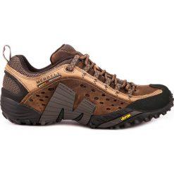 Buty trekkingowe męskie: MERRELL Buty męskie Intercept Moth Brown r. 43  (J73705)