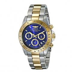 """Zegarek """"3644"""" w kolorze złoto-srebrno-niebieskim. Niebieskie, analogowe zegarki męskie Dugena & Nautec No Limit, ze stali. Za 539,95 zł."""