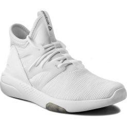 Buty Reebok - Hayasu CN1939  White/Blk/Matte Silver. Białe buty do fitnessu damskie Reebok, z materiału. W wyprzedaży za 269,00 zł.