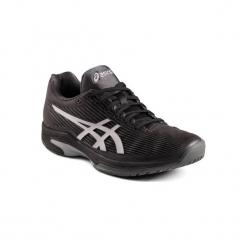 Buty tenisowe Asics Gel Solution Speed 3 męskie. Czarne buty do tenisa męskie Asics. Za 399,99 zł.