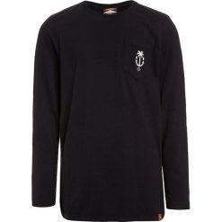 Scotch Shrunk LONG SLEEVE WITH SMALL ARTWORK Bluzka z długim rękawem washed black. Niebieskie bluzki dziewczęce bawełniane marki Scotch Shrunk. Za 149,00 zł.