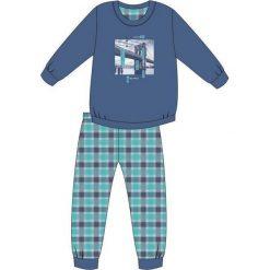 Bielizna chłopięca: Piżama Young Boy 966/81 Bridge niebieska r. 140