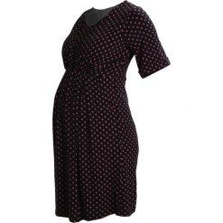 Sukienki hiszpanki: JoJo Maman Bébé Sukienka z dżerseju black bud