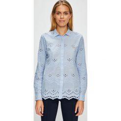 U.S. Polo - Koszula. Szare koszulki polo damskie U.S. Polo, s, z haftami, z bawełny, casualowe, z klasycznym kołnierzykiem, z długim rękawem. Za 479,90 zł.