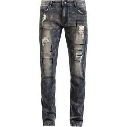 Rock Rebel by EMP Jared Jeansy szary. Czarne jeansy męskie relaxed fit marki Caliban, s. Za 121,90 zł.