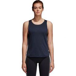 Bluzki asymetryczne: Adidas Koszulka damska Prime Low Back granatowa r. S (CF4423)