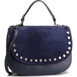 Torebka CREOLE - K10587 Granat. Niebieskie torebki klasyczne damskie Creole, ze skóry. W wyprzedaży za 219,00 zł.