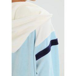 Fenty PUMA by Rihanna HOODED TRACK  Bluza rozpinana vanilla ice/sterling blue. Białe kardigany damskie Fenty PUMA by Rihanna, l, z bawełny. W wyprzedaży za 419,50 zł.