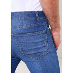 New Look FRANCO Jeans Skinny Fit bright blue. Czarne jeansy męskie relaxed fit marki New Look, z materiału, na obcasie. Za 129,00 zł.
