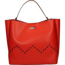 Torba - A-2249-M R RO. Szare torebki klasyczne damskie marki Venezia, ze skóry. Za 249,00 zł.
