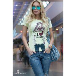 T-shirt. Szare t-shirty damskie Fasardi. Za 9,90 zł.