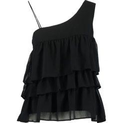 Bluzki asymetryczne: YAS YASFRICCA Bluzka black