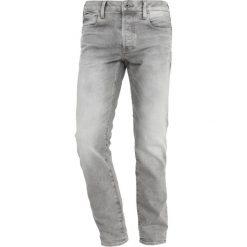GStar 3301 SLIM Jeansy Slim Fit kamden grey stretch denim light aged. Białe jeansy męskie relaxed fit marki G-Star, z nadrukiem. Za 609,00 zł.